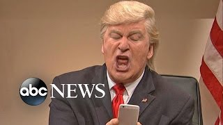 Download Donald Trump, Alec Baldwin Tweet Over Continuing 'SNL' Skits Video