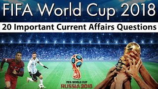 Download Fifa World Cup 2018 - फीफा वर्ल्ड कप 2018 पर केंद्रित 20 प्रश्न , Current affairs 2018 by Study IQ Video