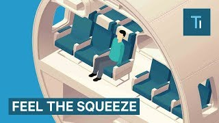 Download How Airline Seats Have Shrunk Over The Years Video