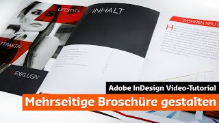 Download Eine moderne Broschüre mit InDesign gestalten (Tutorial + Unboxing) Video