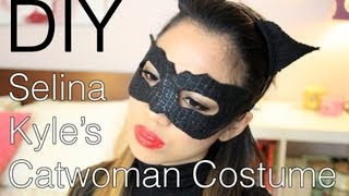 Download Halloween DIY Selina Kyle/Catwoman (The Dark Knight Rises) Costume, Makeup, and Hair Video