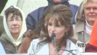 Download Former Alaska Governor Sarah Palin addresses Wisconsin Video