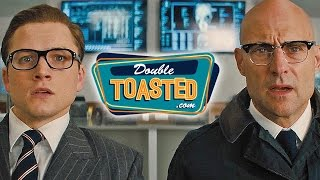 Download KINGSMAN THE GOLDEN CIRCLE OFFICIAL MOVIE TRAILER #1 REACTION - Double Toasted Review Video