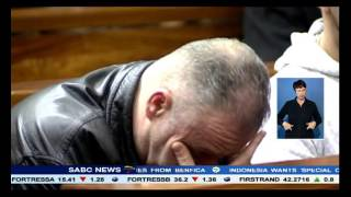 Download Krejcir asked the court to remove all his restraints Video