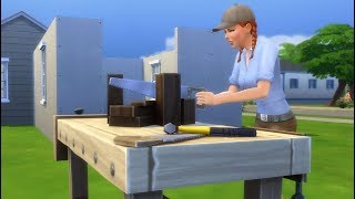 Download Jess plays Sims4! Building and decorating with Jess! We got our baby pet rats! Video