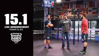 Download CrossFit Open 15.1 FRONING vs FRASER Video