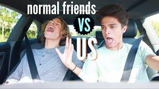 Download Normal Friends VS Us.. | Brent Rivera Video