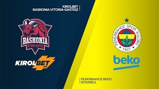 Download KIROLBET Baskonia Vitoria-Gasteiz - Fenerbahce Beko Istanbul Highlights |EuroLeague, RS Round 18 Video