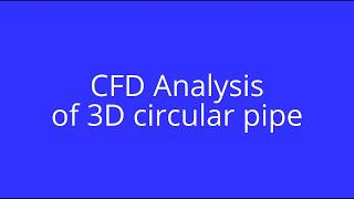 Ansys WorkBench - Fluent C-D Nozzle tutorial Free Download Video MP4