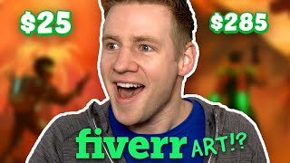 Download I Paid Artists on FIVERR To Finish My Drawing... Video