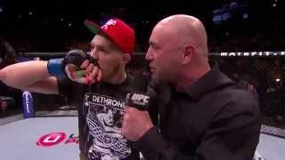 Download UFC 178: Conor McGregor Octagon Interview Video