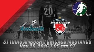 Download St Louis Ambush vs Chicago Mustangs Video