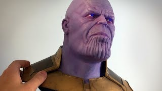 Download Thanos Sculpture Timelapse - Avengers: Infinity War Video