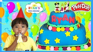 Download PLAY DOH CAKE Happy Birthday Chocolate Surprise Eggs Mashems and Fashems Surprise Toys Disney Eggs Video