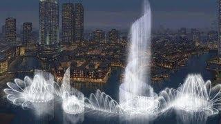 Download Burj Khalifa and Dubai Fountain Video