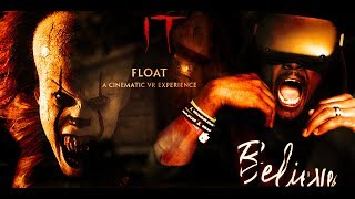 Download PENNYWISE THE DANCING CLOWN IS HERE || IT: FLOAT - A Cinematic VR Experience REACTION (HTC Vive) Video
