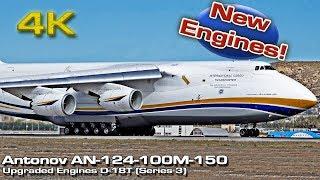 Download Epic Antonov 124-100M 150 [4K] ZMKB Upgraded Engines Takeoff (UR-82009)! Video