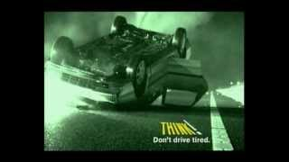 Download THINK! - Don't drive tired Video