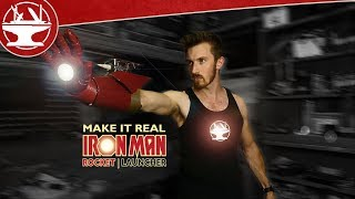 Download Make it Real: Iron Man Rocket Launcher (WITH REAL ROCKETS) Video