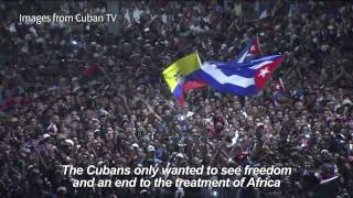 Download Cubans hold mass rally, remember Fidel Castro Video