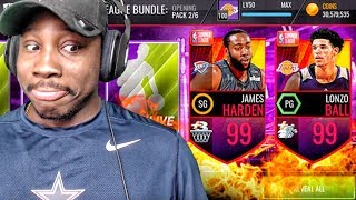 Download 99 OVR JAMES HARDEN IN SUMMER LEAGUE PACK OPENING! NBA Live Mobile Gameplay Ep. 153 Video