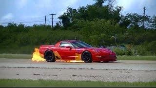 Download Puerto Rico Half Mile Event 2015: Corvette Fire Video