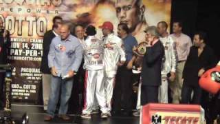 Download Manny Pacquiao vs. Miguel Cotto Weigh-in @ FightFan! Video