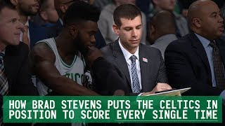 Download How Brad Stevens puts the Celtics in position to score EVERY SINGLE TIME Video