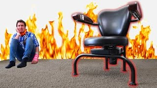 Download A Chair that could KILL YOU? Video