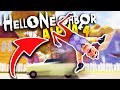 WHAT HAPPENS WHEN THE NEIGHBOR GETS HIT BY A SPEEDING CAR?! | Hello Neighbor Alpha 4 Gameplay