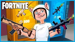 Download LEGENDARY SCAR and RPG VENDING MACHINE in Fortnite: Battle Royale! (Fortnite Funny Moments & Fails) Video