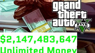 Download GTA 5 $2,147,483,647 Unlimited Money in 10 minutes Lifeinvader Video