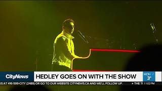 Download Hedley goes on with the show Video