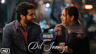 DIL JAANIYE Video , Khandaani Shafakhana , Sonakshi Sinha ,Jubin Nautiyal,Payal Dev , Love Song 2019