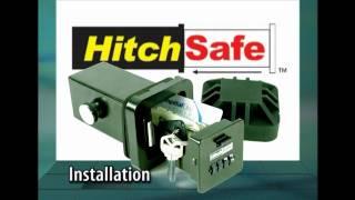 Download Installing HitchSafe, hitch safe, trailer hitch safe, hitchsafe key vault Video