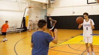 Download GIANT PLAYERS VS TINY PLAYERS! 2 ON 2 BASKETBALL GAME Video