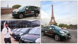 Download Fiat 500L 1.6 turbodiesel Living: prova consumi Torino-Parigi con 50 euro - Bosch Diesel Challenge Video