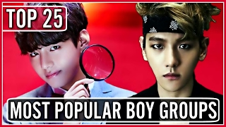 Download |TOP 25| MOST POPULAR KPOP BOY GROUPS ON YOUTUBE Video