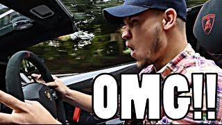Download DRIVING LORD ALEEM'S LAMBORGHINI AVENTADOR SV!! Video