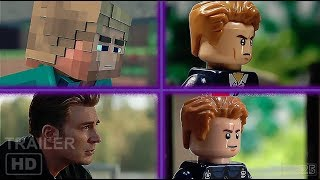 Download Avengers Endgame Trailers (Lego, Minecraft, Marvel) Compilation Video