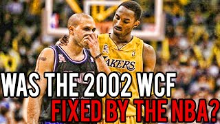 Download Was The 2002 WCF (Lakers Vs Kings) Fixed By The NBA? Video