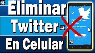 Download Como Eliminar Twitter Desde El Celular Móvil | Desactivar o Dar Baja Twitter Por Completo Video