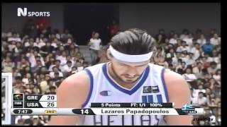 Download Greece vs USA 101-95 Basketball World Championship 2006 Video