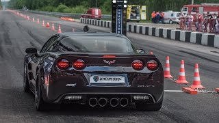 Download Chevrolet Corvette ZR1 vs Mercedes SLS AMG vs Mercedes C63 AMG Video