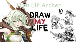Download High Elf Archer - Goblin Slayer | Biography & Facts You Didn't Know | Draw my Life Video
