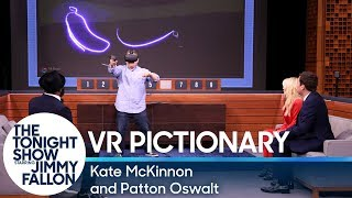 Download Virtual Reality Pictionary with Kate McKinnon and Patton Oswalt Video