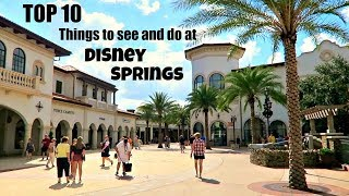 Download TOP 10 things to see and do at Disney Springs | Walt Disney World 2017 Video