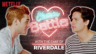 Download KJ Apa VS Cole Sprouse Charm Battle   Riverdale   Netflix Video