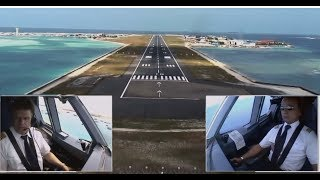 Download Airbus A330 - Approach and Landing in Malé, Maldives (ENG sub) Video