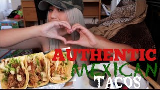 Download AUTHENTIC MEXICAN TACOS |MUKBANG||EATING SHOW| Video